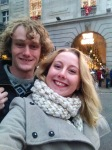 Richard and I by the Ritz in London