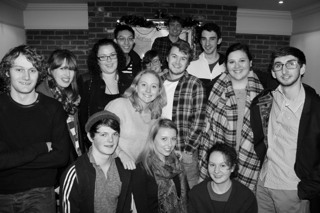 the get-together at christmas with my lovely friends <3