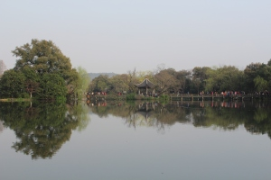 On the little island in the middle of the West Lake, Hangzhou