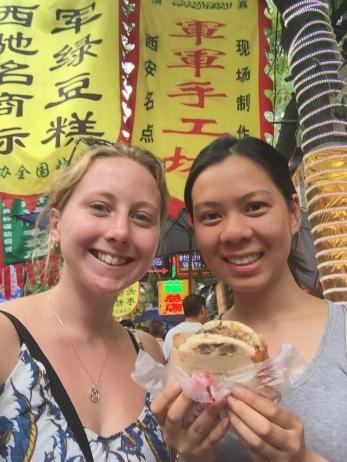 Lisa and I: 肉夹馍