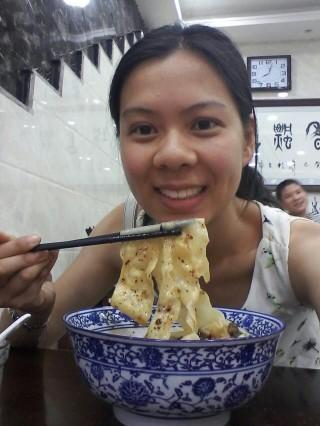 Lisa and her 'biangbiangmian'