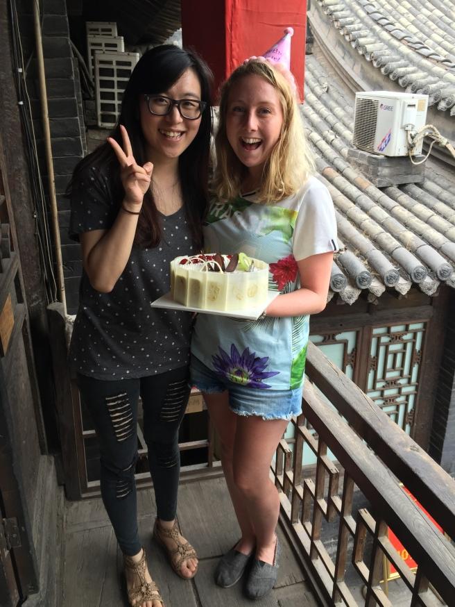 My birthday in Pingyao - 15th June