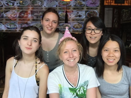 My birthday in Pingyao - 15th June