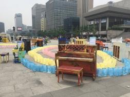 Gwanghuamun, Seoul - 25th June
