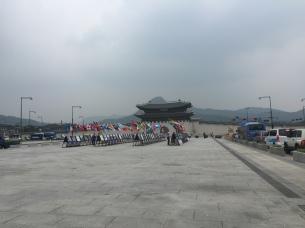 Guanghwamun, Seoul - 25th June