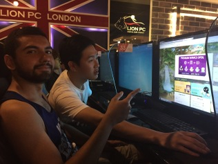 Playing Video Games, Seoul