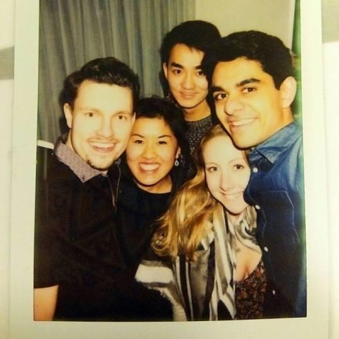 Dominik, Clare, Eden & Danny