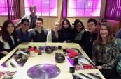 Final Meal: Xinyi, Danny, Sarunas, Dominik, Sherry, Mario, Shui, & Dori