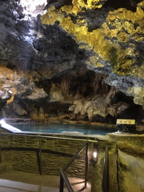 Cave and Basin - the source of the hot springs.